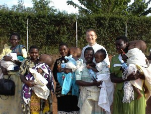 Another inspirational individual; Benjamin Warf and some of his patients in Uganda.