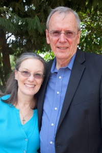 Leland Albright, neurosurgeon for BethanyKids.  Pictured with his wife, Susan.