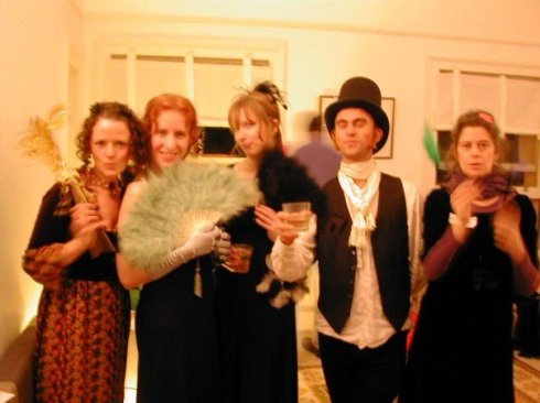 Me and a handful of my Regency counterparts.