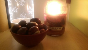 Conkers and candles...oh, yes baby.